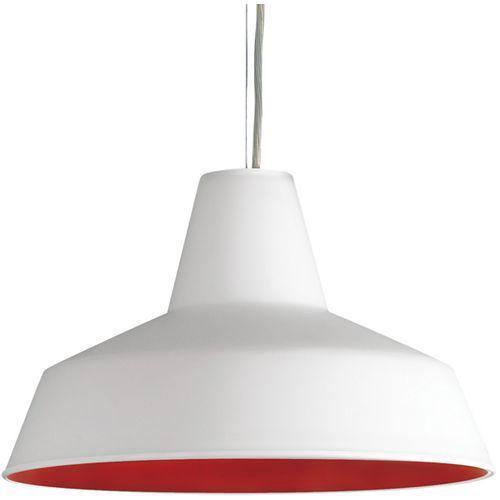 Lampa wisząca Rotaliana Officina biało-czerwona - sprawdź w All4home