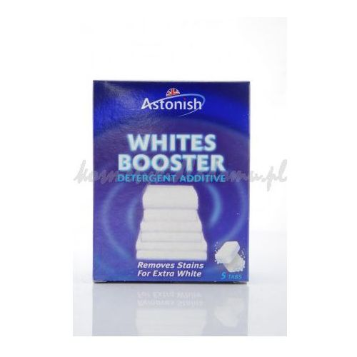 WHITE BOOSTER - WYBIELACZ DO TKANIN W TABLETKACH 5 SZT (wybielacz i odplamiacz do ubrań) od kosmetykidladomu.