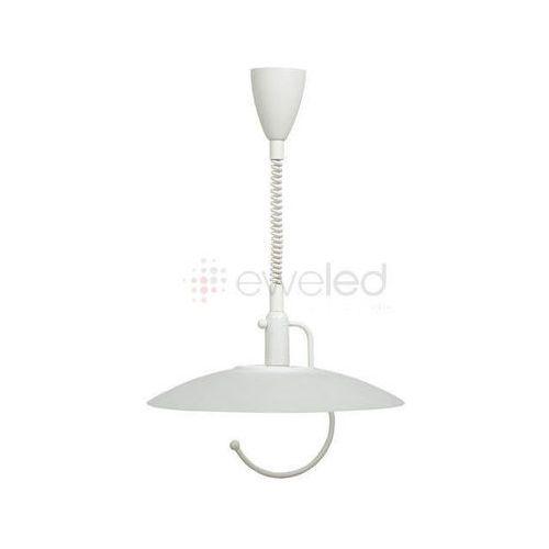SCORPIO lampa wisząca 1 x 100W E27 BIAŁY - sprawdź w EWELED.pl