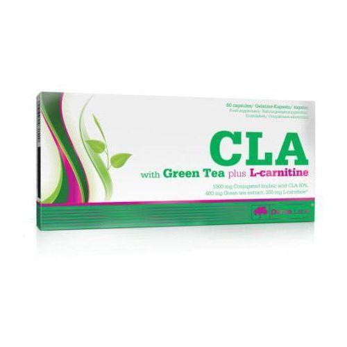 CLA z Zieloną Herbatą plus L-Karnityna 60kaps.