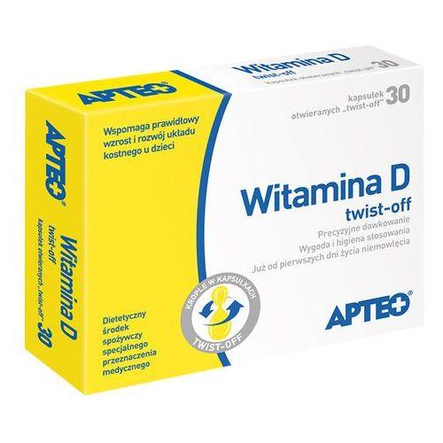 Witamina D twist-off APTEO kaps.twist-off - 30 kaps., postać leku: kapsułki