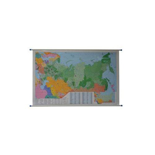 Rosja mapa ścienna kody pocztowe 1:5 400 000 , produkt marki Stiefel
