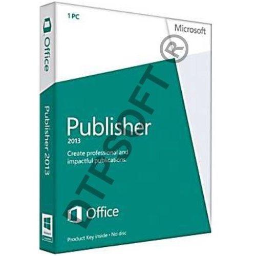 Microsoft Publisher 2013 32bit/x64 Medialess PL Win - produkt z kategorii- Pozostałe oprogramowanie