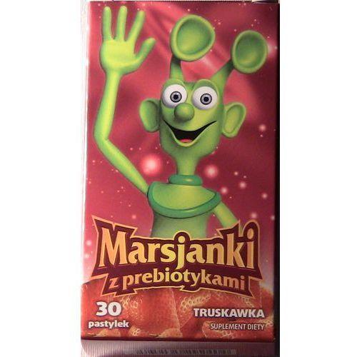 Marsjanki z prebiotykami sm.truskaw. pastyl.do ssan. - 100 pastyl., postać leku: pastylki