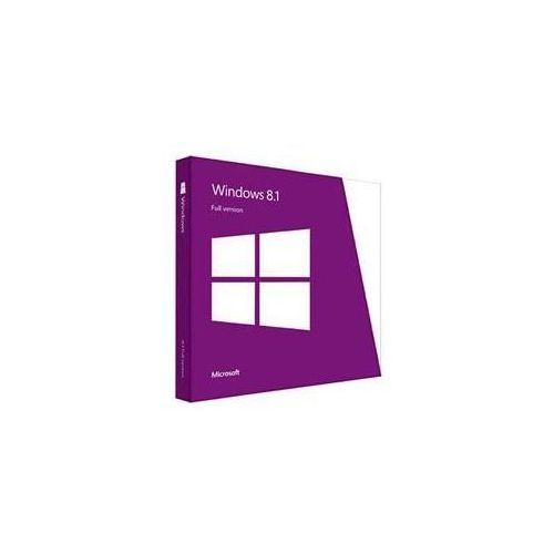 Microsoft Windows 8.1 32/64 bit PL DVD (WN7-00934) - sprawdź w wybranym sklepie