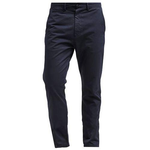 Hope Chinosy dark blue - produkt z kategorii- spodnie męskie