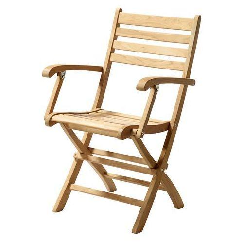 Krzesło składane Cinas York teak ze sklepu All4home
