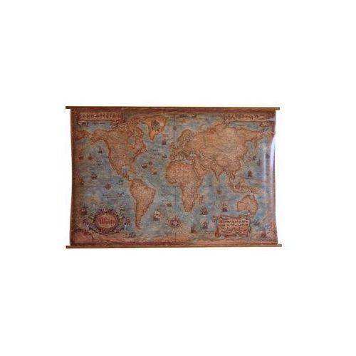 Świat mapa ścienna stylizowana, produkt marki Ray