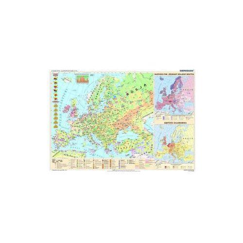 Produkt Europa gospodarcza. Mapa ścienna Europy., marki Meridian