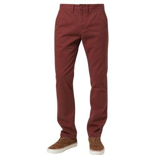Produkt z kategorii- spodnie męskie - Vans EXCERPT Chinosy czerwony