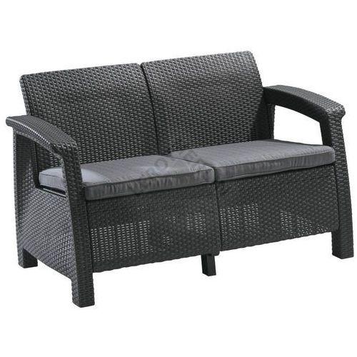 Sofa ogrodowa CORFU II ALLIBERT, Leroy Merlin
