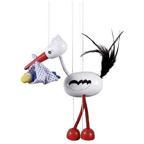Marionetka dla dzieci - Bocian Adebar (pacynka, kukiełka)