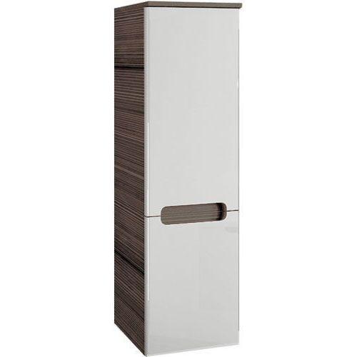 Produkt z kategorii- regały łazienkowe - CLASSIC - Słupek boczny SB-350, biały/espresso, P