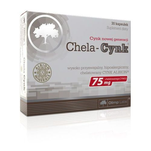 CHELA-CYNK 75mg x 30 kapsułek, postać leku: kapsułki