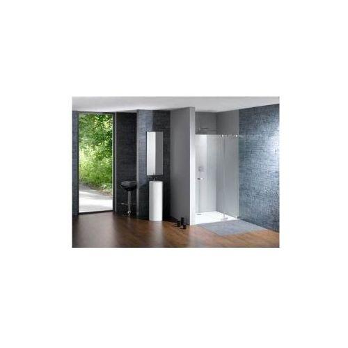 HUPPE STUDIO PARIS ELEGANCE bezramowa Drzwi skrzydłowe ze stałym segmentem do wnęki PR0029 (drzwi prysznico