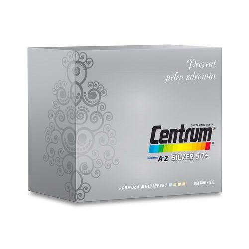 Centrum A-Z Silver 50+ Multiefect 100 tabl, postać leku: tabletki