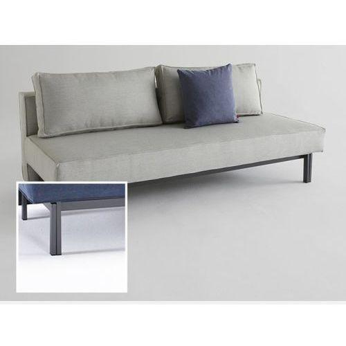 Sofa Sly beżowa 527 nogi stalowe szare  543071CN527527-02-543070-9, INNOVATION iStyle