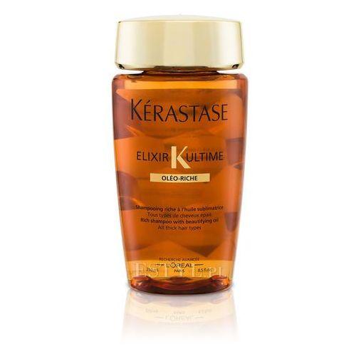 Kerastase Elixir Ultime Oleo-Riche - odżywcza kąpiel do włosów grubych 250ml - produkt z kategorii- odżywki do włosów