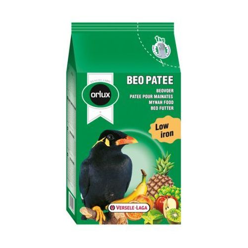 VERSELE LAGA - ORLUX - BEO PATEE 1 kg - pokarm dla gwarka oraz ptaków owocolubnych, Orlux