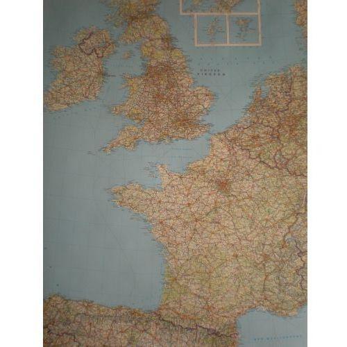 Europa Zachodnia. Mapa ścienna drogowa 1:2 mln wyd. , produkt marki Freytag&Berndt