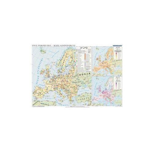 Produkt Unia Europejska - mapa gospodarcza. Mapa ścienna Unii Europejskiej., marki Meridian