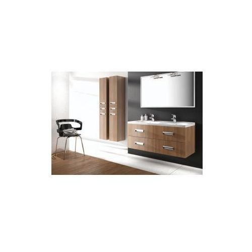 DEVO seria SPIRIT półsłupek z szufladą L/P 30X75X34cm kolor cerezzo - produkt z kategorii- regały łazien