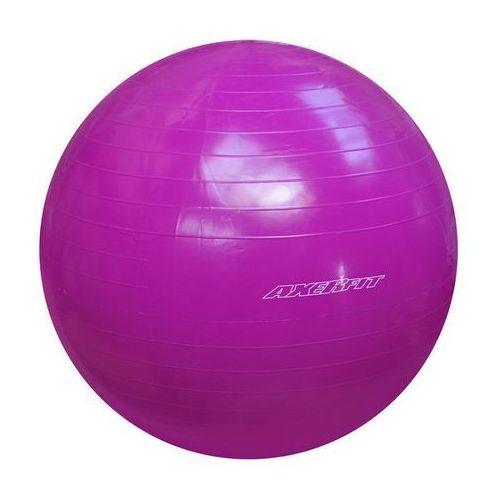 Produkt Piłka gimnastyczna AXER 55 cm FIOLETOWA