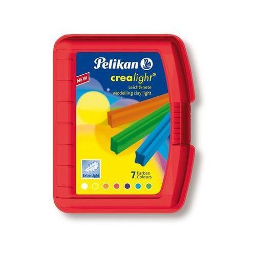 Oferta Plastelina Crealight Pelikan - 7 kolorów - opakowanie czerwone [f594dda64ff35499]