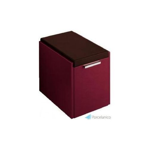 V&B SENTIQUE, REGAL NA ROLKACH, 348 X 472 X 482 MM, PEARLWOOD A26100DN - produkt z kategorii- regały łazienk