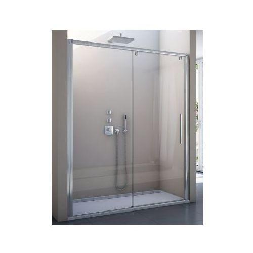 SANSWISS PURLIGHT S drzwi rozsuwane dwuczęściowe 1600 lewe PLS2G1605007 (drzwi prysznicowe)