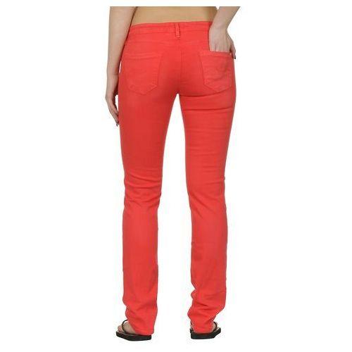 jeansy Roxy Amber Flat - Washed Red - produkt z kategorii- spodnie męskie