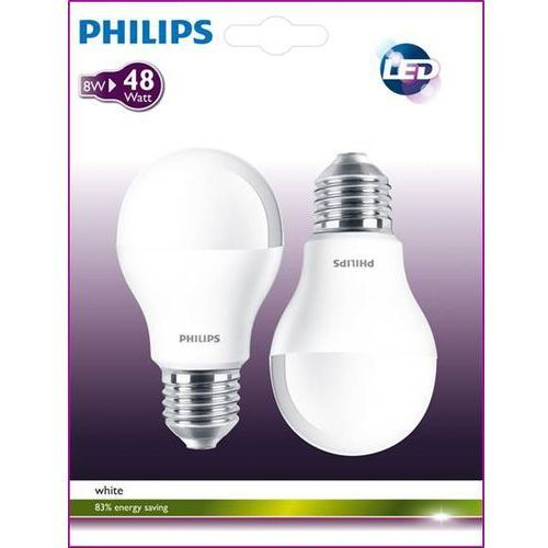 Oferta Philips 2szt LED 48W E27 WW 230V A60 FR 2BC/6 z kat.: oświetlenie