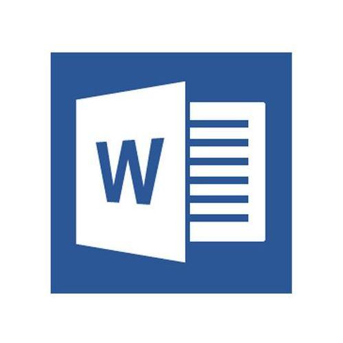Word 2013 Single Open 1 License No Level z kategorii Programy biurowe i narzędziowe
