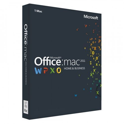 Artykuł Microsoft Office Home & Business 2011 PL 1MAC z kategorii programy biurowe i narzędziowe