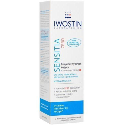 Produkt z kategorii- pozostałe kosmetyki do włosów - Iwostin Sensitia Zero, Bezpieczny krem kojący - bogata konsystencja, 50ml