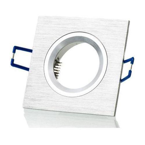 Kobi Oprawa oprawka led halogenowa stała kwadratowa kolor aluminium OH20 2958 z kategorii oświetlenie