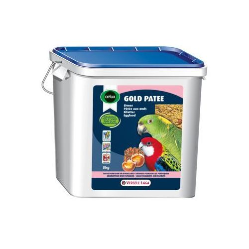 VERSELE LAGA - ORLUX - GOLD PATEE LARGE PARAKEETS and PARROTS 5 kg