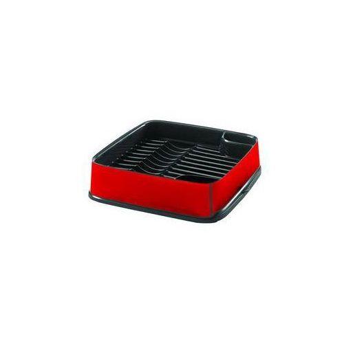Ociekaczem Curver 10 x 40 x 40 cm Srebrny/Czerwony - produkt z kategorii- suszarki do naczyń