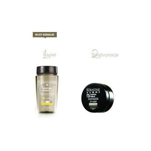 Produkt z kategorii- pozostałe kosmetyki do włosów - Zestaw Kerastase dla panów do włosów normalnych