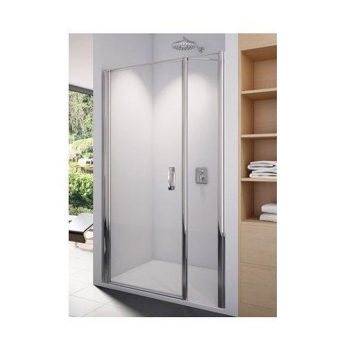SANSWISS SWING-LINE Drzwi jednoczęściowe 100 z elementem stałym SL3110005007 (drzwi prysznicowe)