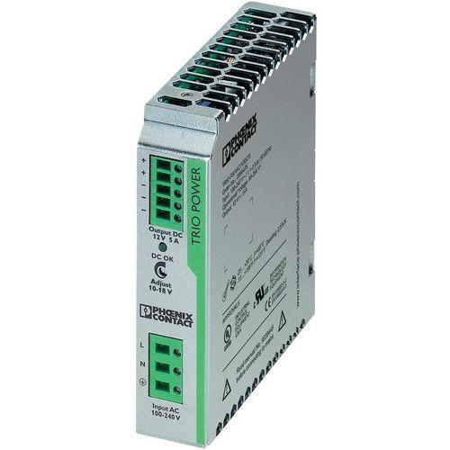 Artykuł Zasilacz na szynę Phoenix Contact TRIO-PS/1AC/12DC/5, 12 V,5A z kategorii transformatory
