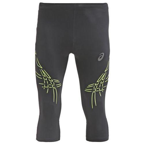 ASICS TIGER Rajstopy performance black/safety yellow - produkt z kategorii- spodnie męskie