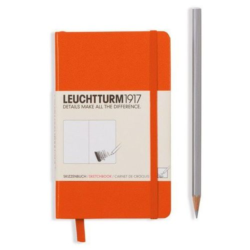 Szkicownik Pocket Leuchtturm1917 gładki pomarańczowy 344992 - oferta [15eaee0471027581]