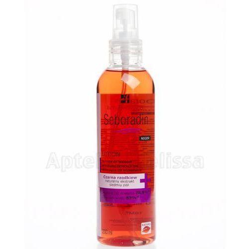 Produkt z kategorii- odżywki do włosów - SEBORADIN NIGER Lotion do włosów przetłuszczających się i skłonnych do wypadania - 200 ml