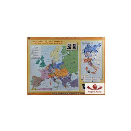 Europa od wojny krymskiej do zjednoczenia Niemiec / Europa przed wybuchem I wojny światowej. Mapa ścienna, produkt marki Nowa Era