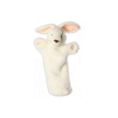 Królik biały - pacynka długi rękaw (pacynka, kukiełka)