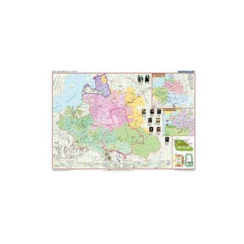 Produkt Rzeczpospolita po Unii Lubelskiej / Europa XVI w. Mapa ścienna., marki Meridian
