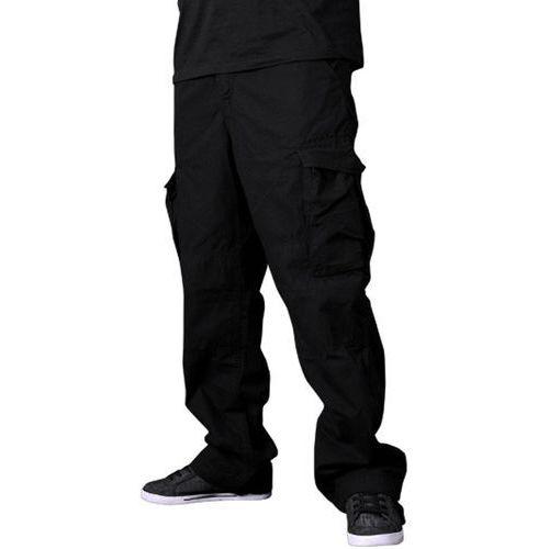 spodnie REELL - Cargo Pant Ripstop Black (RIPSTOP BK) rozmiar: 32/32 - produkt z kategorii- spodnie męskie