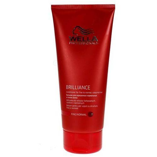 Wella Brilliance odżywka do włosów farbowanych cienkich i norm. Conditioner 200ml - produkt z kategorii- odżywki do włosów