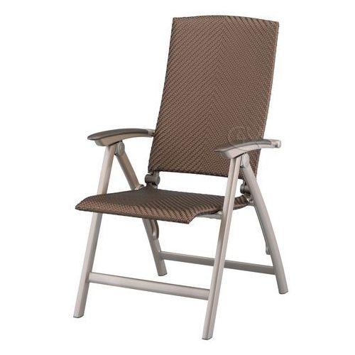Fotel aluminiowy srebrny Melange Kettler ze sklepu Garden4you.pl
